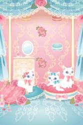 Fashionable Cats by Rosemoji