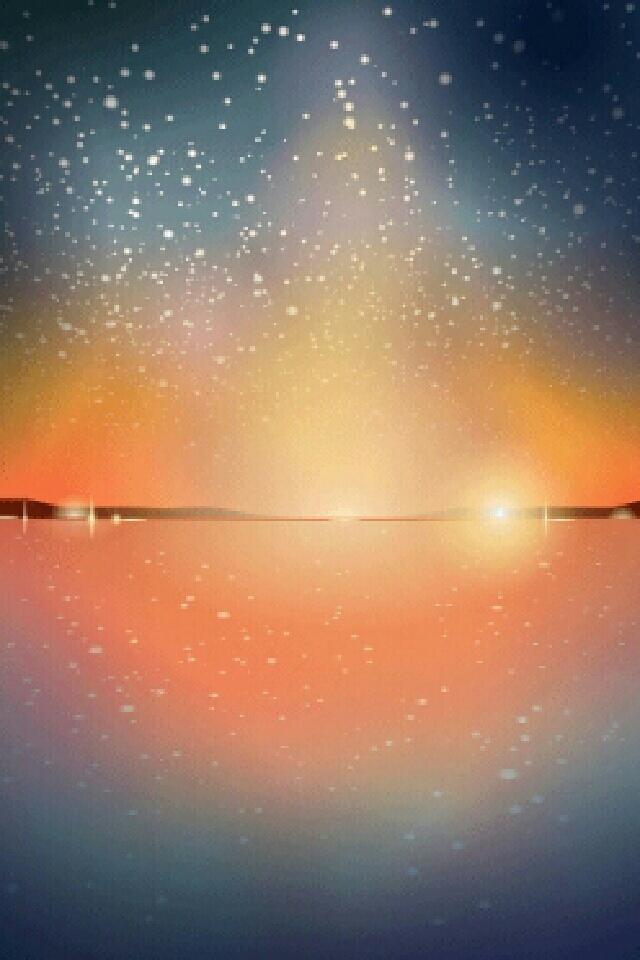 Starry Sunset by Rosemoji