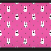 Bunny  Dots (Rose Pink) by Rosemoji