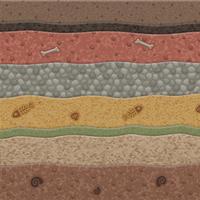 Geological Strata by Rosemoji