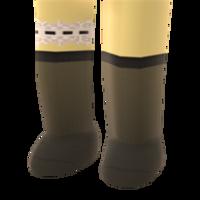 Frilled Garter  Knee-Highs by Rosemoji