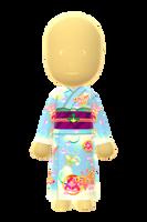 Ladies Fancy Kimono (Butterflies) by Rosemoji