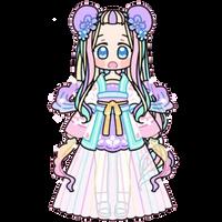 Magic Pastel Girl by Rosemoji