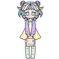 Pastel Girl with Purse by Rosemoji