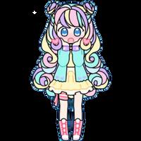 Pastel Girl by Rosemoji