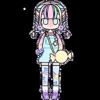 Pastel Candy Girl by Rosemoji
