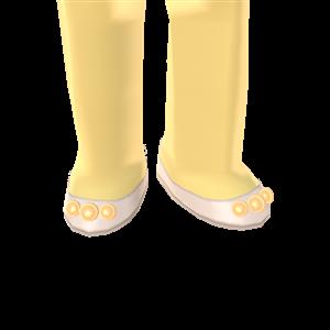 Princessy Pearl Slippers by Rosemoji