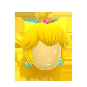 Princess Peach Wig by Rosemoji