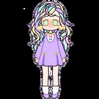 Cute Pastel Girl by Rosemoji
