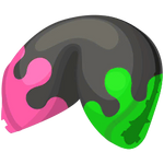 Inkling's Splatted Cookie