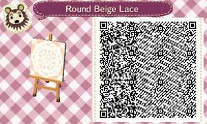 Round Beige Lace by Rosemoji