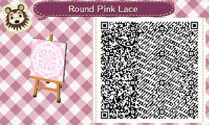 Round Pink Lace by Rosemoji