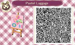 Pastel Luggage by Rosemoji