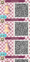 Peach Dress by Rosemoji