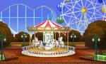 Carousel in the Moring
