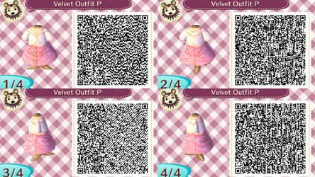 Velvet Outfit P