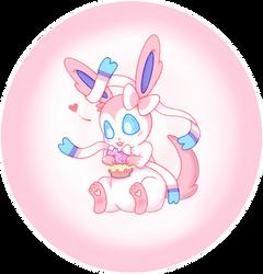 Sylveon Cupcake v2