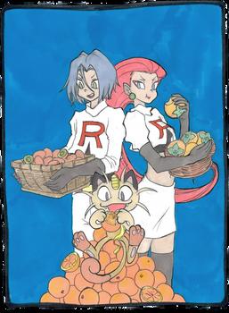 FAN ART | Pokemon - Team Rocket
