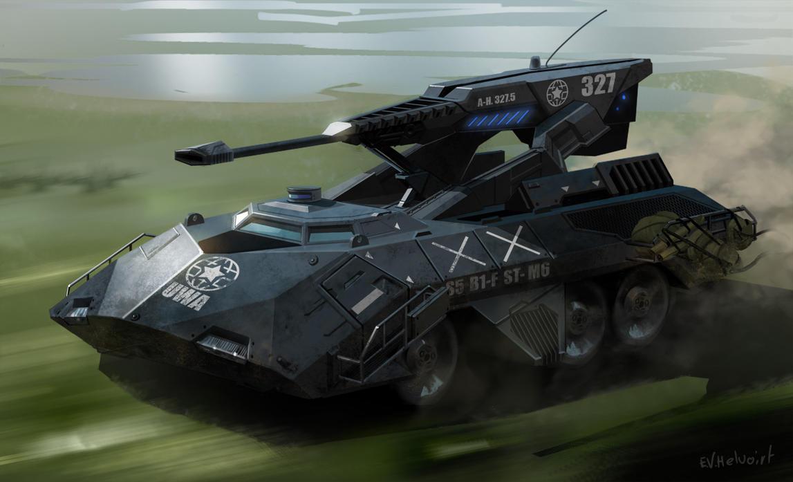 Scorpion Tank by Phade01