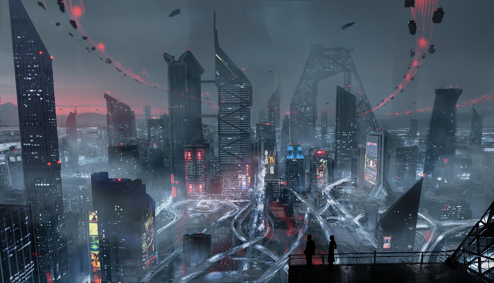 Artwork <b>Digital Art City</b>