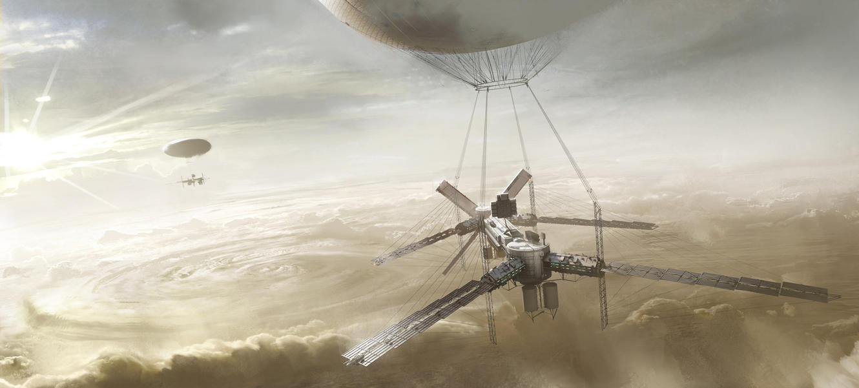 Stratospheric Colony by Phade01