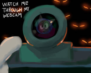 WATCH ME THROUGH MY WEBCAM by mayNINEZ