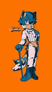 scooty orange
