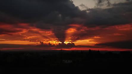 helish sunset