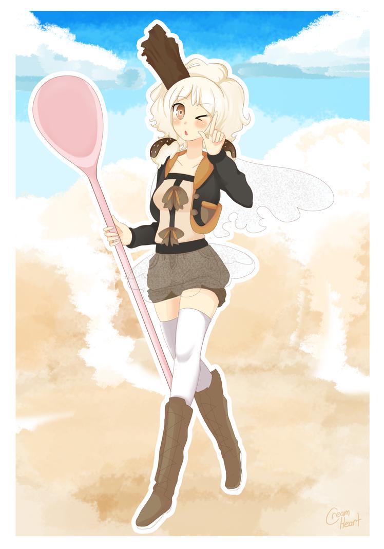 Vanilla Scoop by Cream-Heart