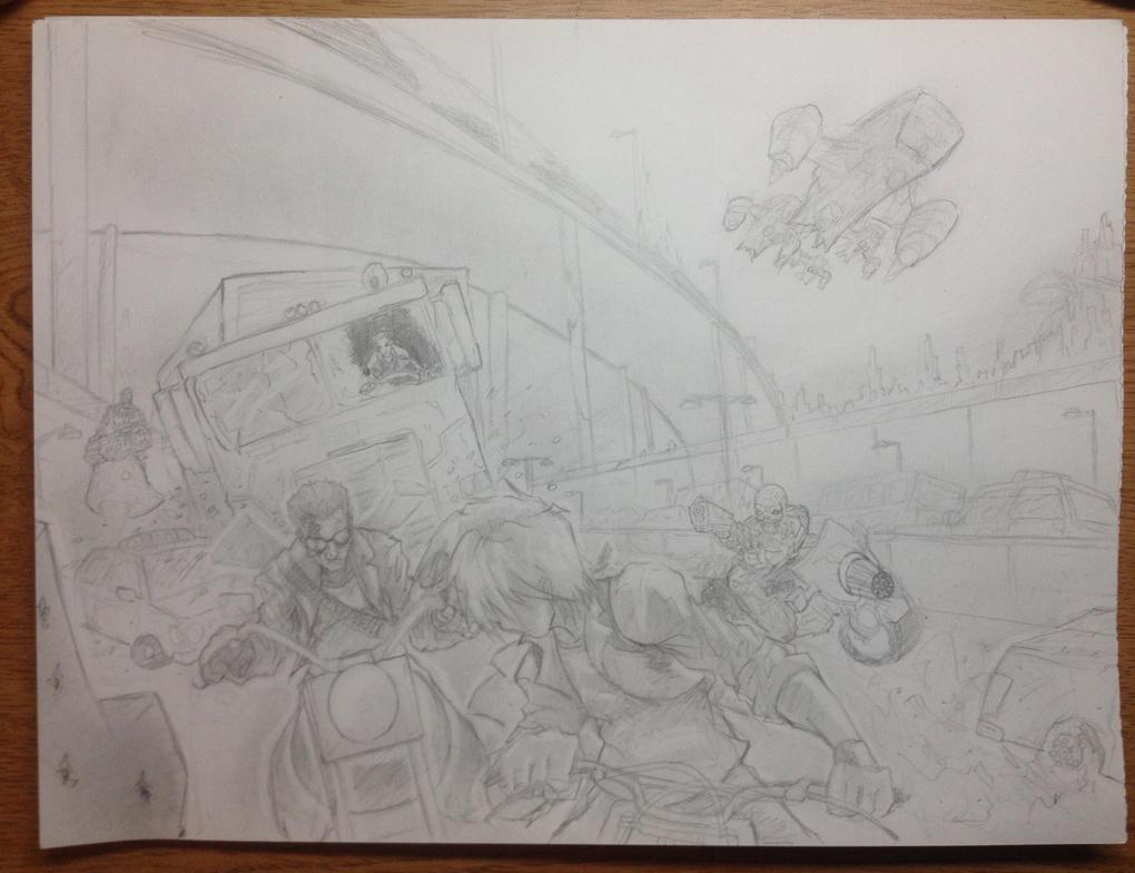 Terminator sketch by westwolf270