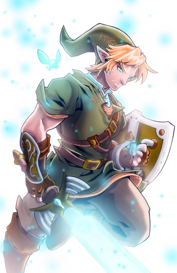 Link (Color Me) By Edwinhuang-d9vhu9e by westwolf270