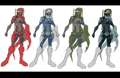Character Color Design by westwolf270