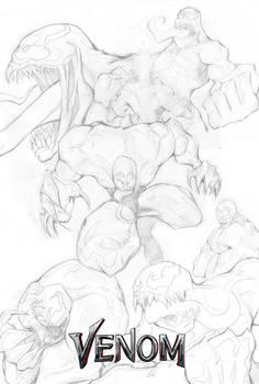 Venom Movie mock cover