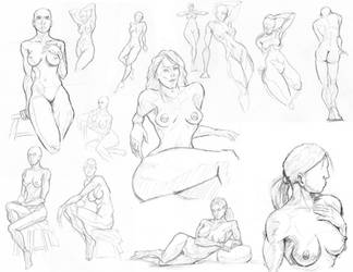 figure drawing and life drawing by westwolf270