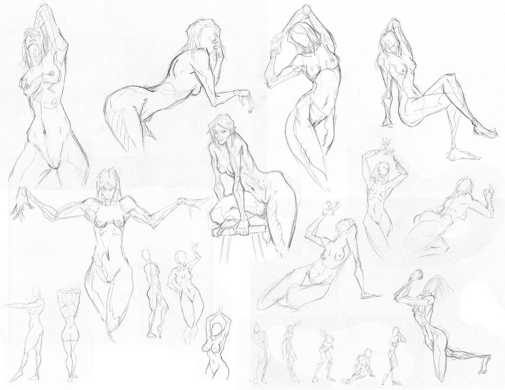figure drawing and life drawing 2 by westwolf270