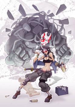 Character Design kabuki Challenge