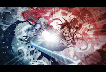 Silver Ash Vs Blaze  Fan Art Keyframe