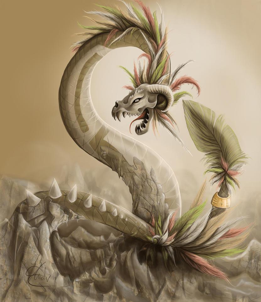 Quetzalcoatl by shanthora on DeviantArt