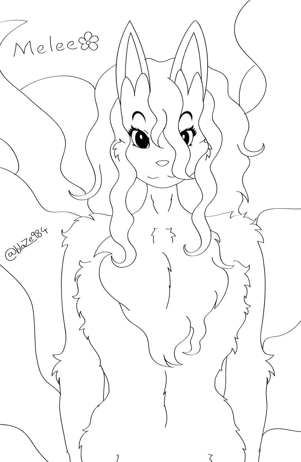 Introducing Melee (Alola Ninetales) by blaze984