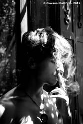 Julian, smoking 2 - By Giovanni Dall'Orto, 2015