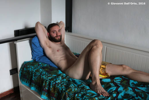 Valerio on couch 3 - By Giovanni Dall'Orto, 2016