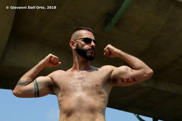 Big muscles - Photo by Giovanni Dall'Orto, July 26 by giovannidallorto