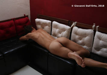 Laying on the couch 2 - By Giovanni Dall'Orto 2018 by giovannidallorto