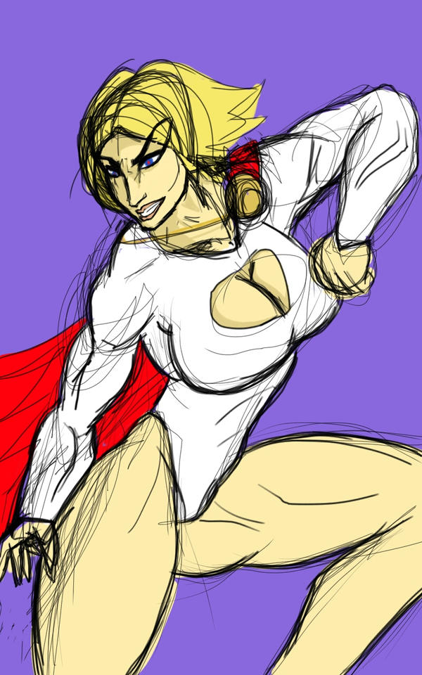 FAVORITE FEMALE COMIC BOOK HERO by luis-GAH