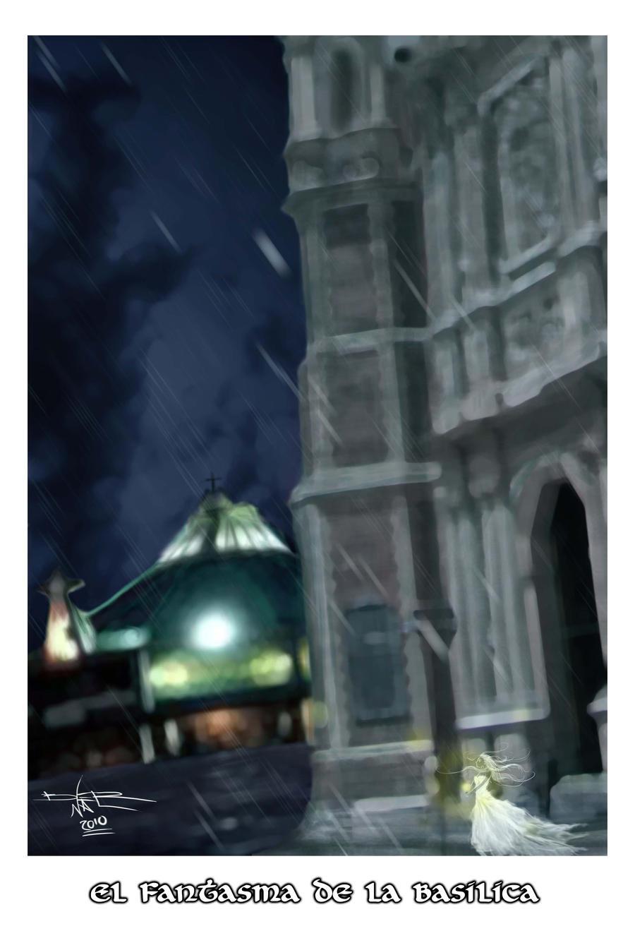 El fantasma de la basilica by el-sour-maldito
