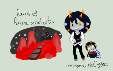 MSPA:Land and  Fantroll by alischan