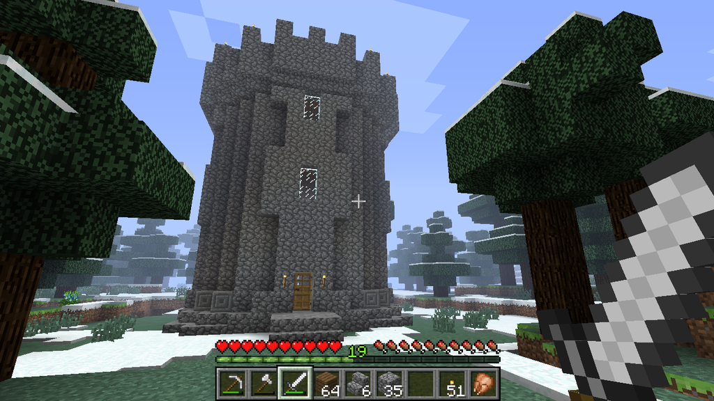Epic Beast Mode Skyrim Style Minecraft Castle by Veryek on DeviantArtMinecraft Stone Wallpaper