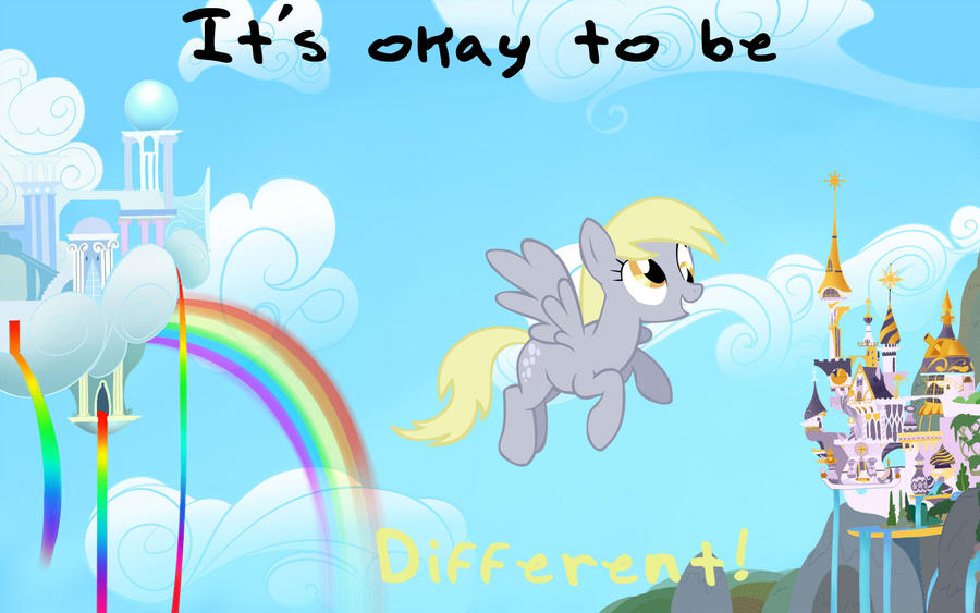 It's okay to be different! by Elixxis