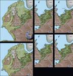 Doggerland Maps