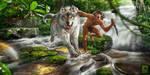 Mowgli by RedreevGeorge